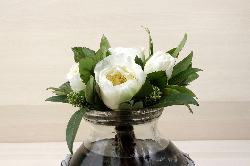 Bouquet de roses de jardí