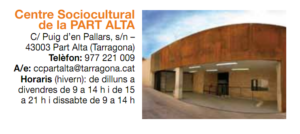 Centre Sociocultural Part Alta Tarragona