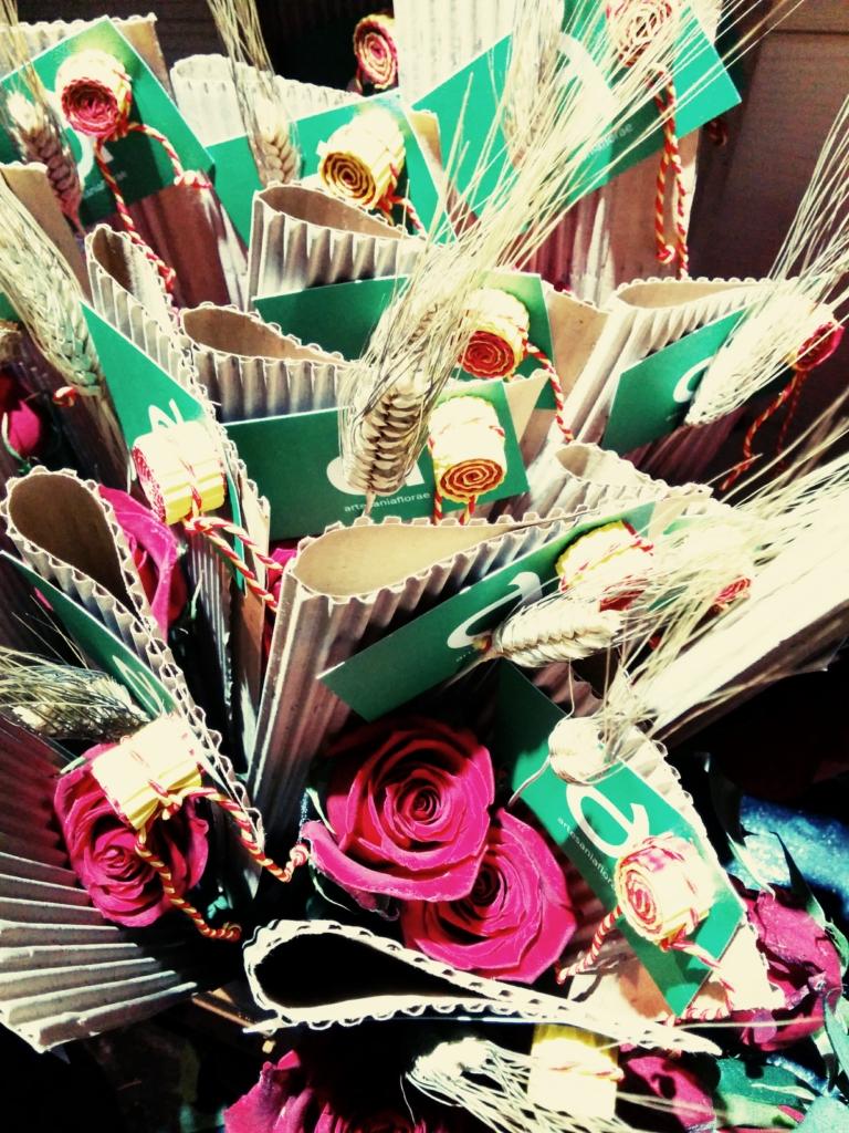 Sant Jordi 2014 en C. Major 24, Vila-seca / artesaniaflorae