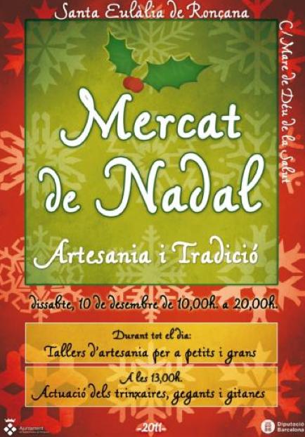 Mercat de Nadal - Artesania i Tradició 2011