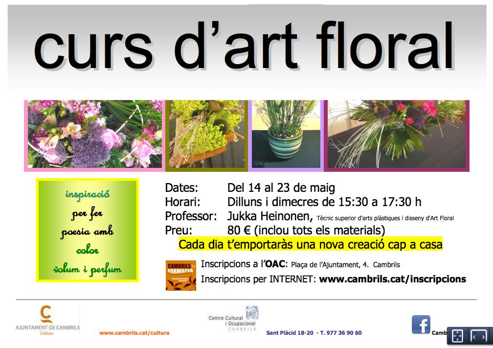 Curs d'Art Floral en Cambrils