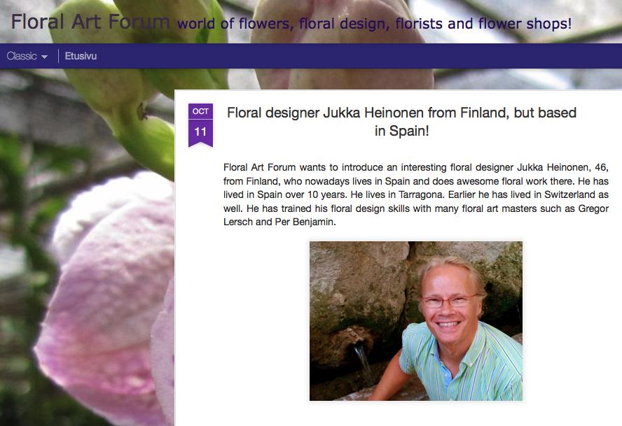Floral Art Forum