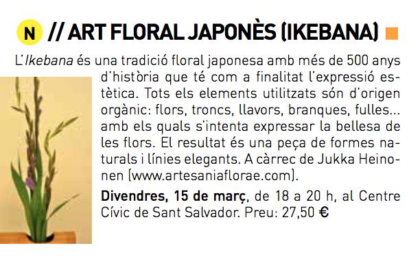 Art Floral Japonès - Ikebana