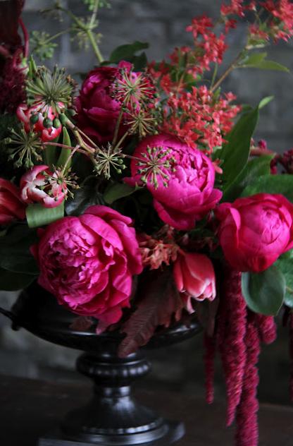 Pink peonies with Sarah WinWard