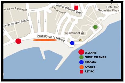 Plaça Fragata Sitges (Barcelona)