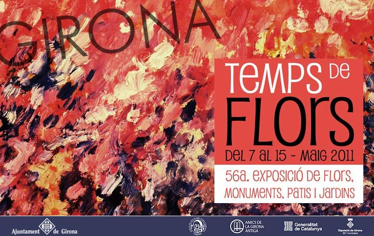 Pagina oficial de Girona Temps de Flors 2011