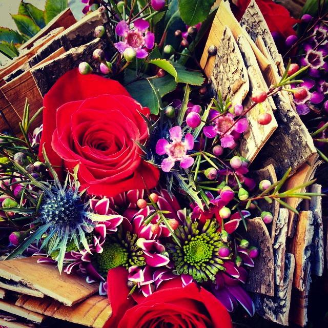 Ram de flors + Betula detall