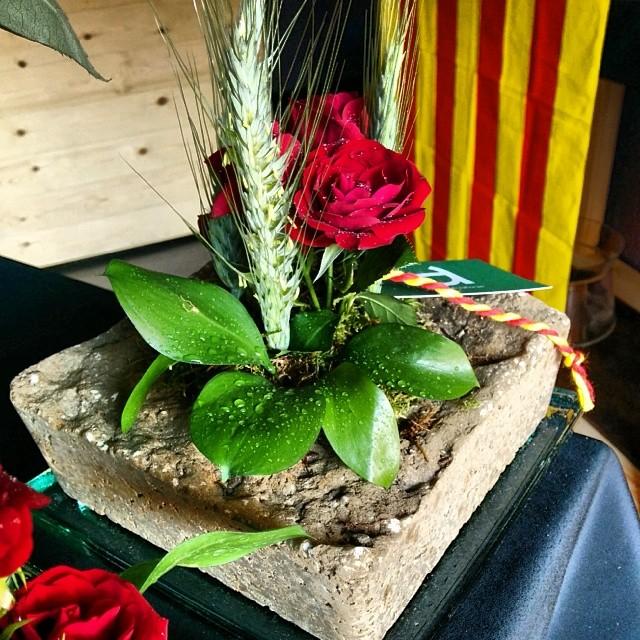 Sant Jordi + pedra